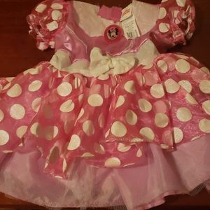 Minnie mouse costume size 2t